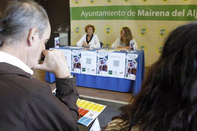 Presentación de programación cultural de Mairena del Aljarafe (Sevilla)
