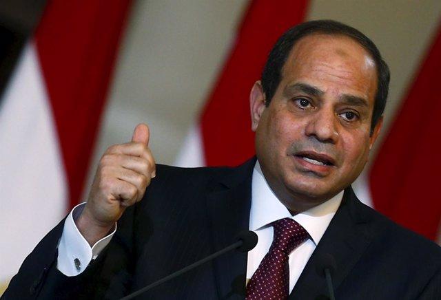 El presidente de Egipto, Abdelfatá al Sisi