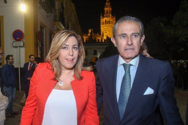 Susana Díaz y Asís Martín de Cabiedes