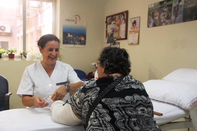 García con una paciente