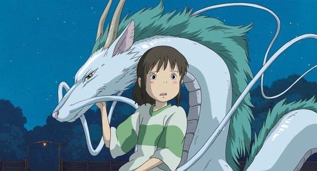 Imagen de la película 'El viaje de Chihiro'
