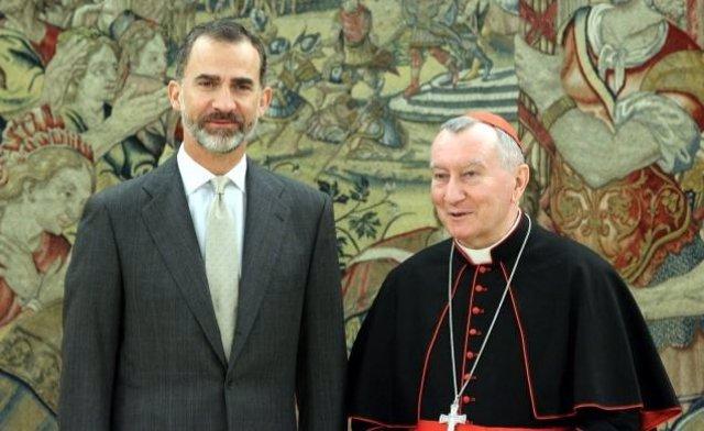 Parolin y Felipe VI