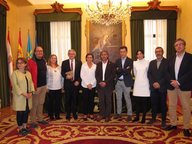 Firma Convenio Ayuntamiento Y Universidad De Oviedo