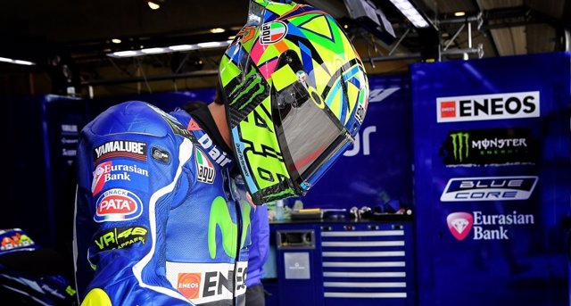 Valentino Rossi en Brno
