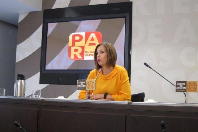 La diputada del PAR, María Herrero