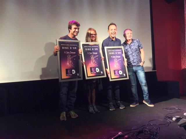 Global entrega el Disco de Oro a 'El Petit Príncep'