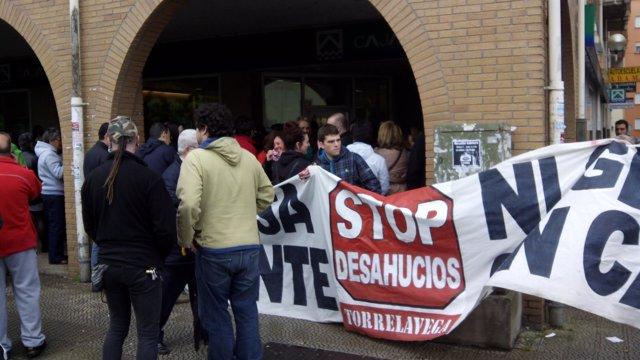 Paralización de un desahucio en Cantabria