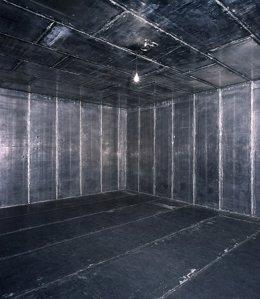 Instalación de Joseph Beuys en el CaixaFòrum de Barcelona