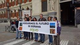 Diputados de EQUO piden al Gobierno proteger Doñana a largo plazo