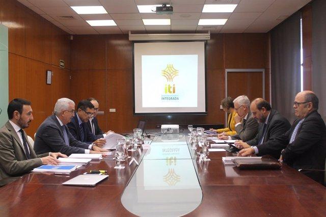 NP. Vicepresidente. Reunión ITI. Gobierno De Castilla La Mancha
