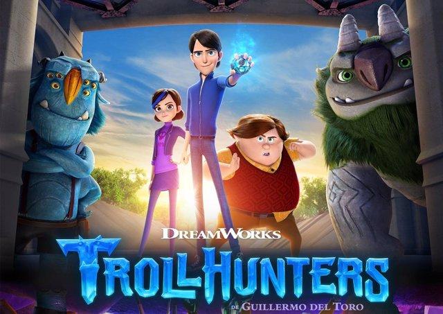 Póster de Trollhunters