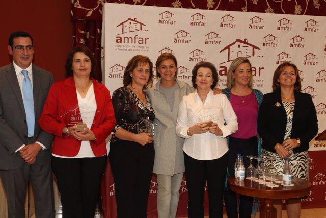 PP CLM (Fotografías IV Envío) María Dolores Cospedal Asiste A La Comida De Herma