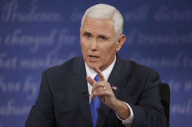El candidato republicano a la Vicepresidencia de EEUU, Mike Pence