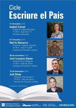 Cartel de la nueva edición de Escriure el País