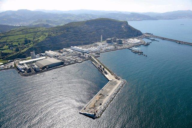 Punta Sollana, Puerto de Bilbao