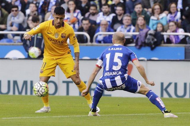 Neymar Laure Barcelona Deportivo Coruña