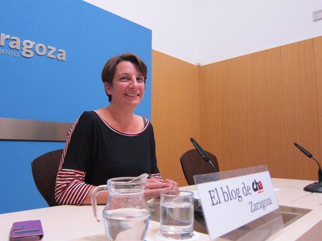 La concejal de CHA, Leticia Crespo