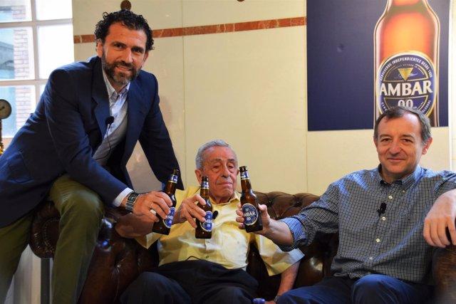 Ambar celebra sus 40 años de cerveza sin alcohol.