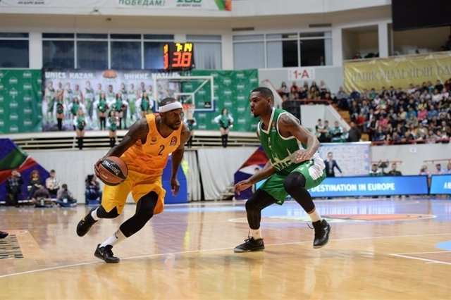 Tyrese Rice FC Barcelona Lassa Unics Kazan