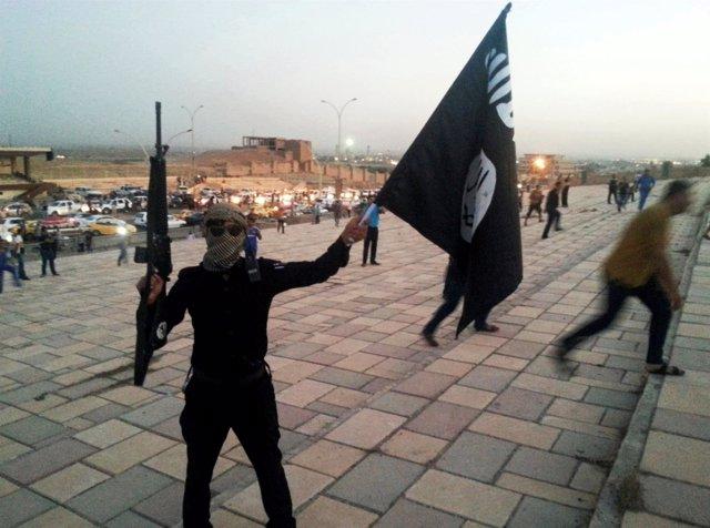 Miliciano del Estado Islámico en Mosul