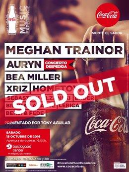Este Sábado/Meghan Trainor, Auryn, Bea Miller Y Más De 15 Artistas Coca Cola Mus