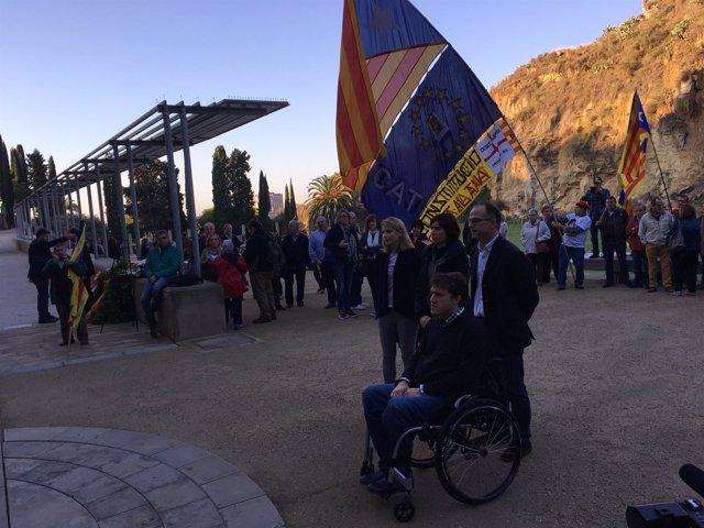 David Bonvehí, Jordi Turull, Elsa Artadi y Vanessa Farré