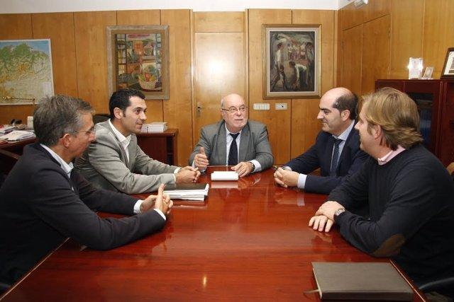 Reunión Sota con FMC
