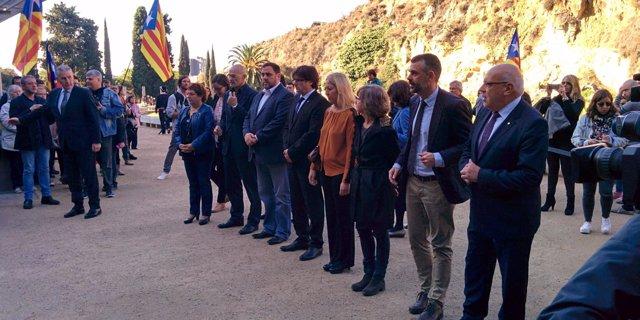 Homenaje del Govern a Lluís Companys