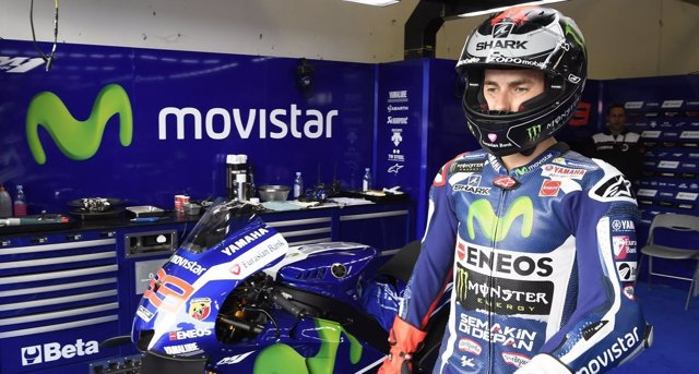 El piloto español Jorge Lorenzo en Brno