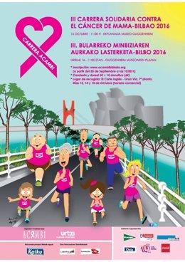 III Carrera solidaria contra el cáncer de mama
