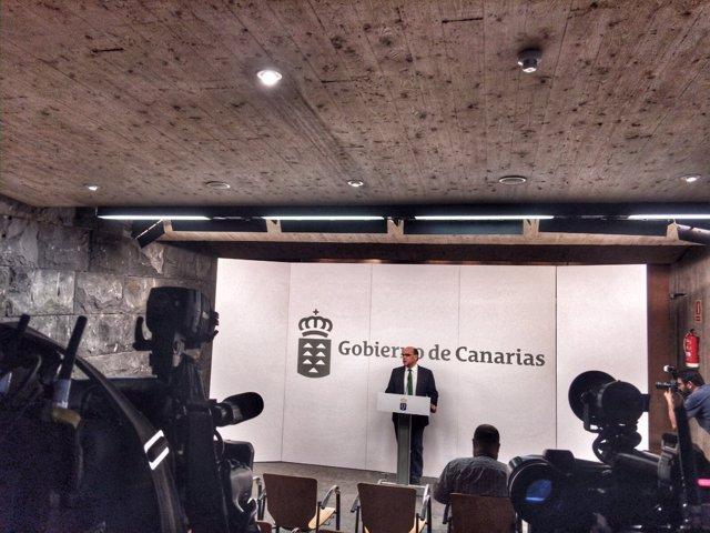 Rueda de prensa de José Miguel Barragán