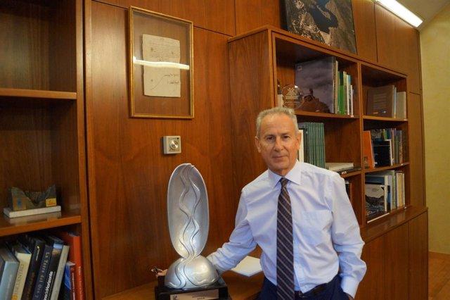 Miguel Ángel Ródenas, presidente desde 2012 de la CHS