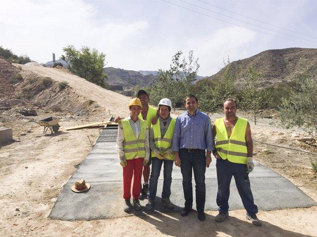 El PFEA trae inversiones a Albanchez (Almería)