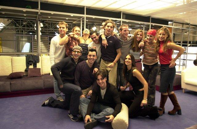 Concursantes de la primera edición de Operación Triunfo