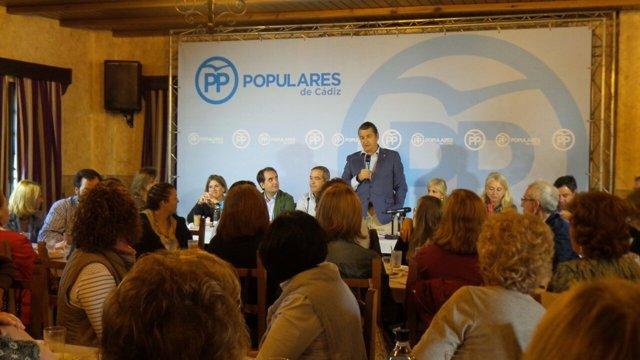 Acto del PP de Cádiz en San José del Valle