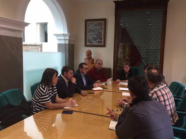 Encuentro del PSOE en Guadix (Granada)