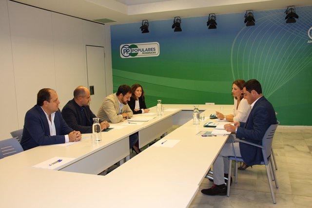 Reunión de asociaciones de empresas forestales con el PP-A