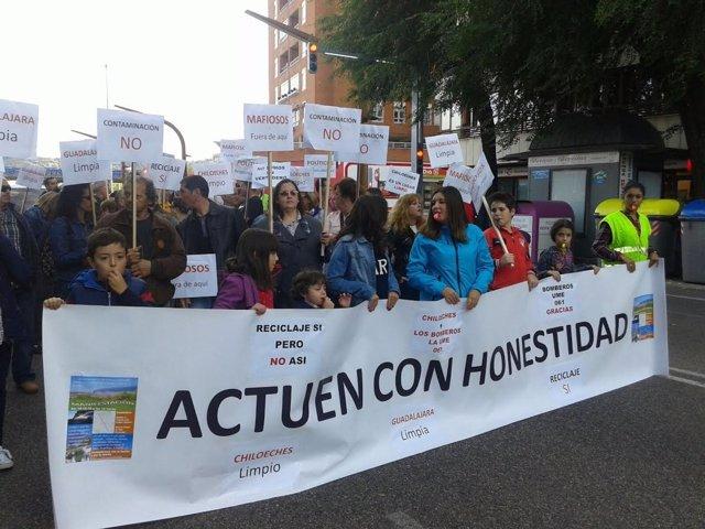 Manifestación Guadalajara