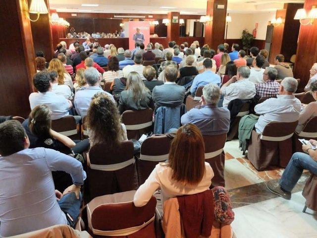Comité Provincial del PSOE en Huesca.