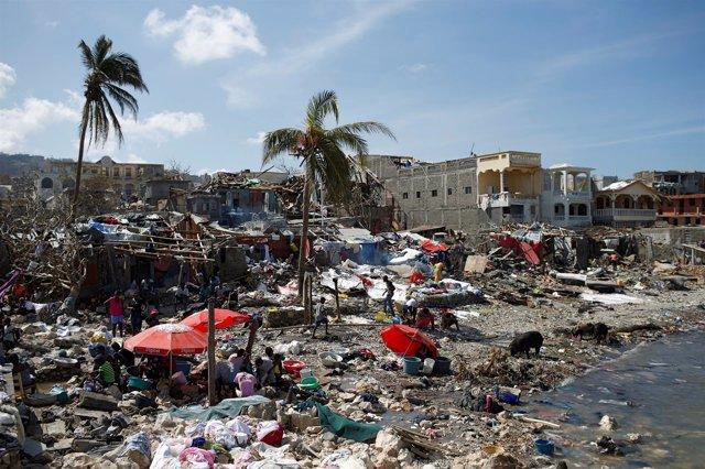 Huracán 'Matthew' en Haití