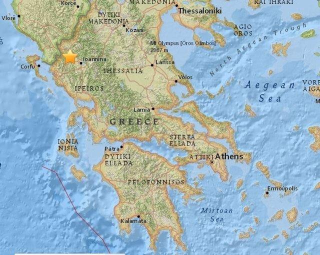 Terremoto de magnitud 5,2 en Grecia