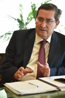 El presidente de la Diputación de Granada, José Entrena.