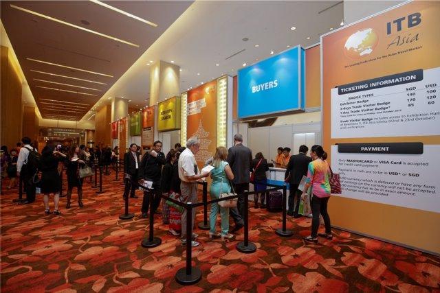 Feria turística ITB Asia