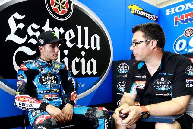 Jorge Navarro, piloto español de Moto3