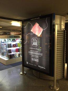Campaña promocional de Huelva en Atocha