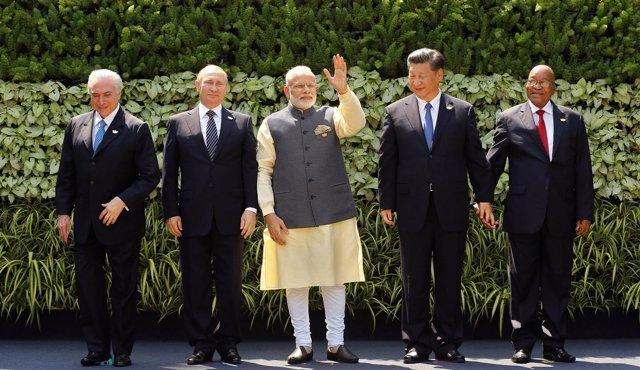 Reunión de los BRICS - Goa 2016