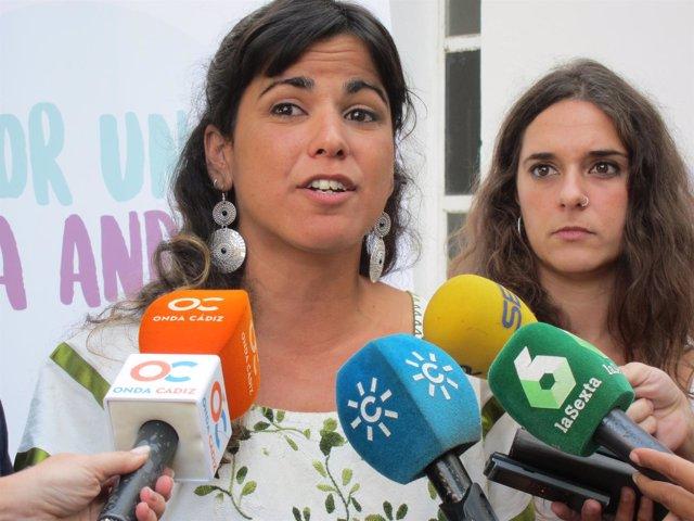 Teresa Rodríguez, secretaria general de Podemos en Andalucía