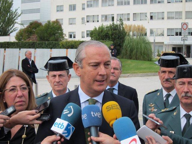 Arsenio Fernández de Mesa, director general de la Guardia Civil