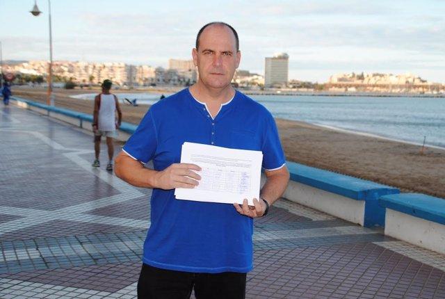 Recogida de firmas del PSOE en Melilla