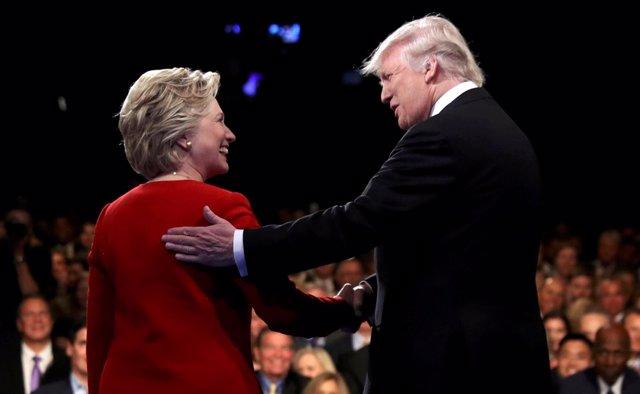 Debate entre Donald Trump y Hillary Clinton